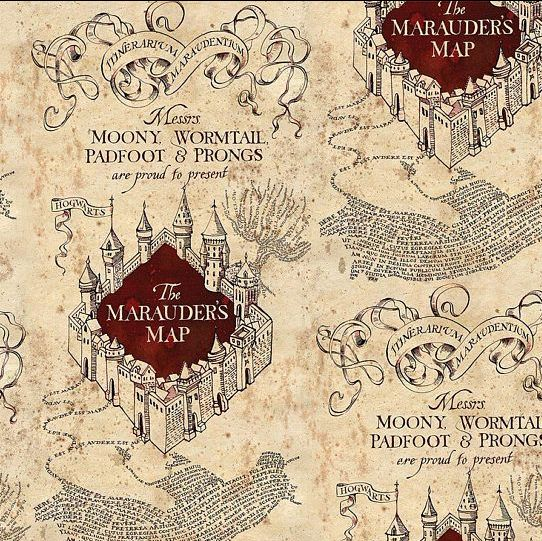 Harry Potter Marauders Map
