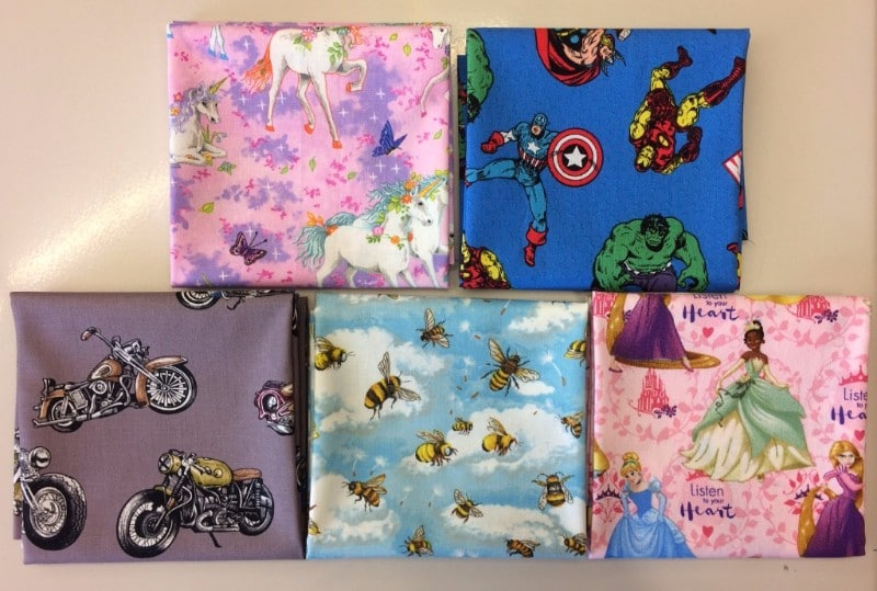 Nutex Novelty Fabrics 2