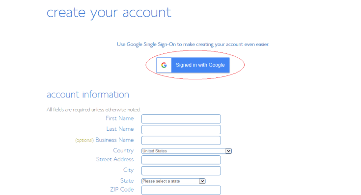 How to start a blog Bluehost Account info