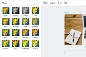 How To Create Images For Blog canva filter