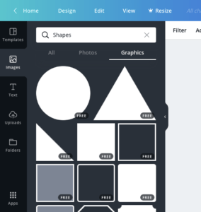 create image free for blog canva shape
