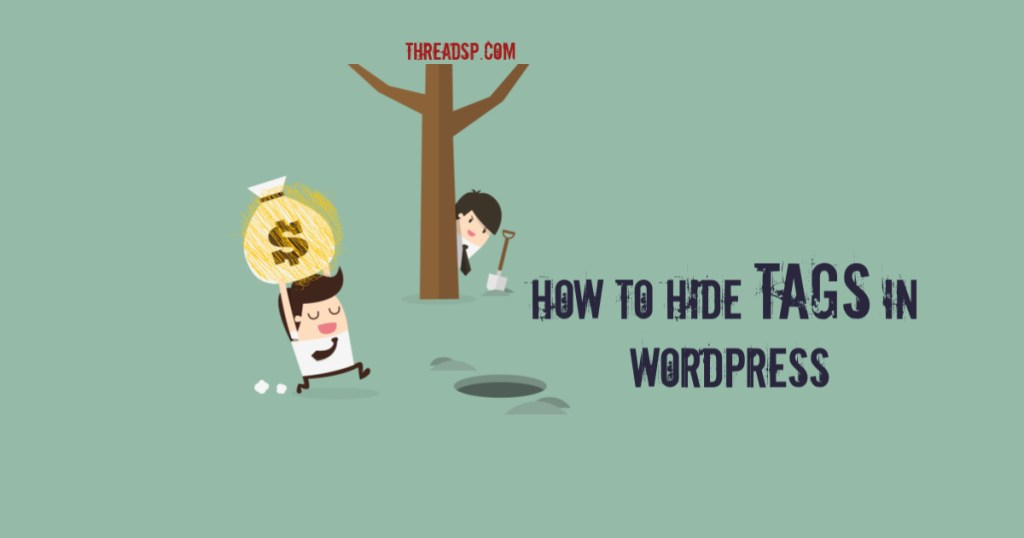 How to hide tags in WordPress posts