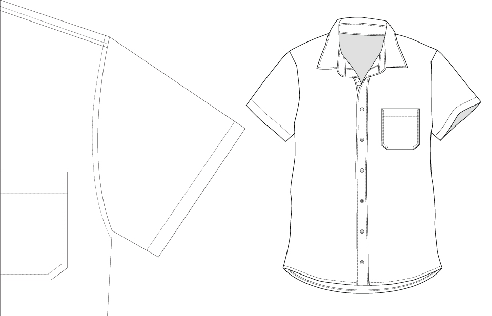 Long Shirt Short Sleeve Coloring Pages