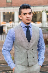Waistcoat with patch pockets