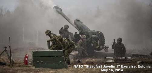 NATO Military Exercise - ALLOW IMAGES