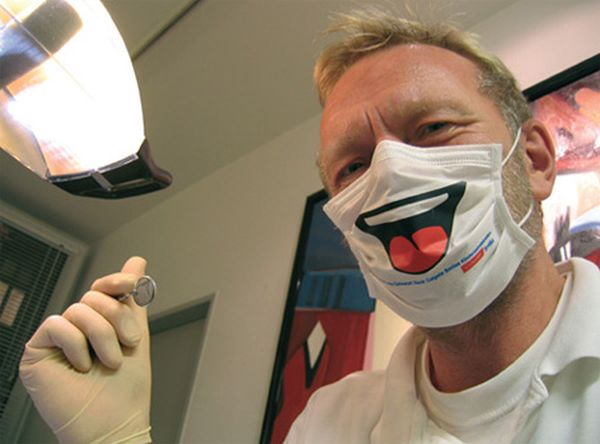 Strange And Funny Face Masks Three Arts