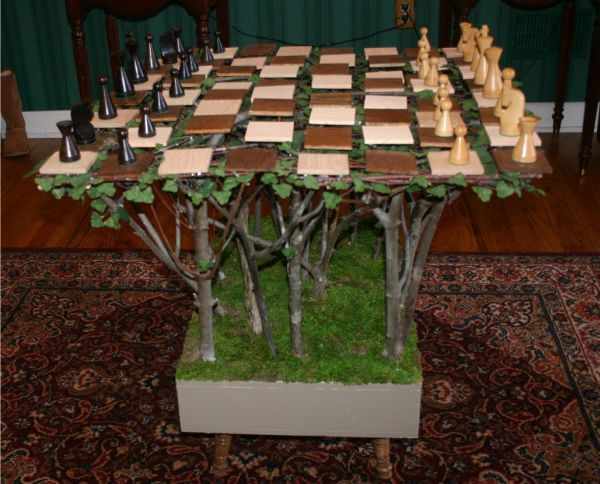 Floating Branch Chessboard