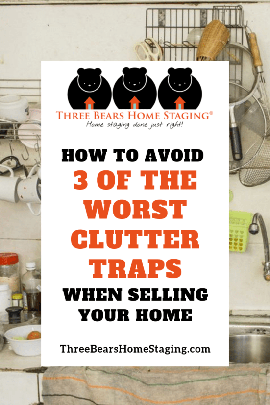 clutter selling home