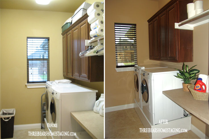 home staging laundry