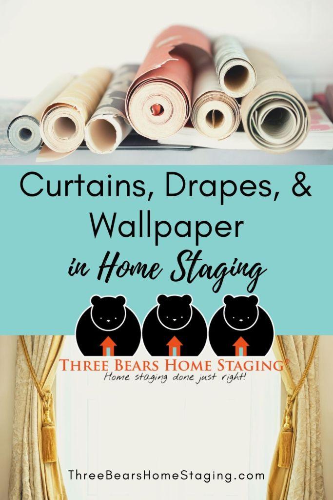 curtains drapes wallpaper