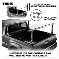Thule 500 Xsporter Pro Multi-Height Truck Rack - Three ...