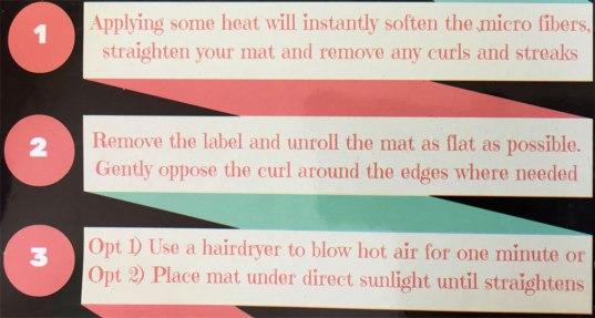 litter mat instructions