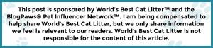 BlogPaws Disclaimer