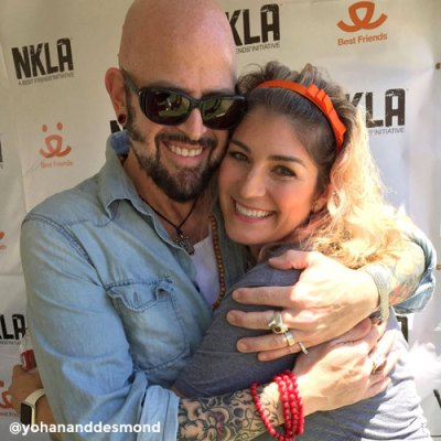 Jackson Galaxy and Samantha Bell DiGenova