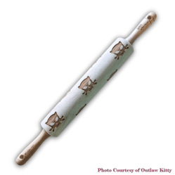 Outlaw Kitty Rolling Pin