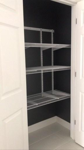 blank closet space