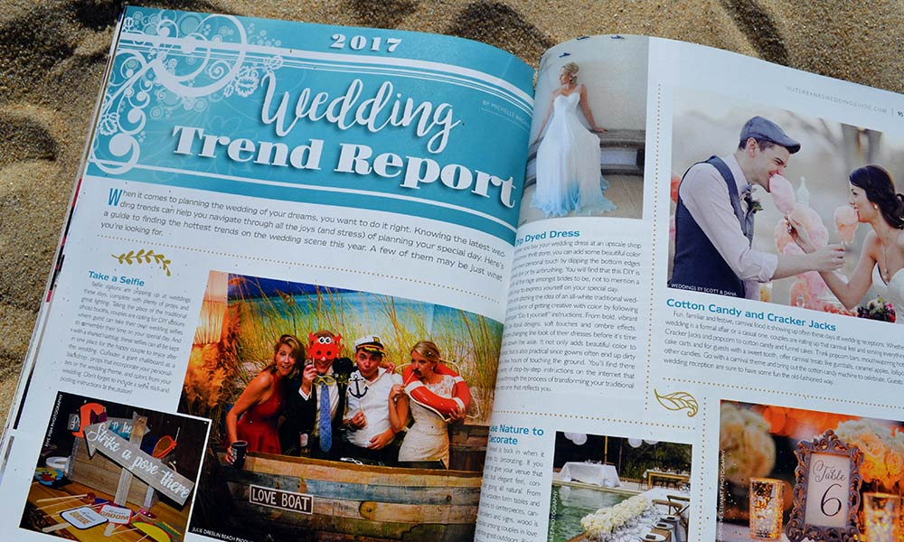 Wedding Guide to the Outer Banks 2017 Trends