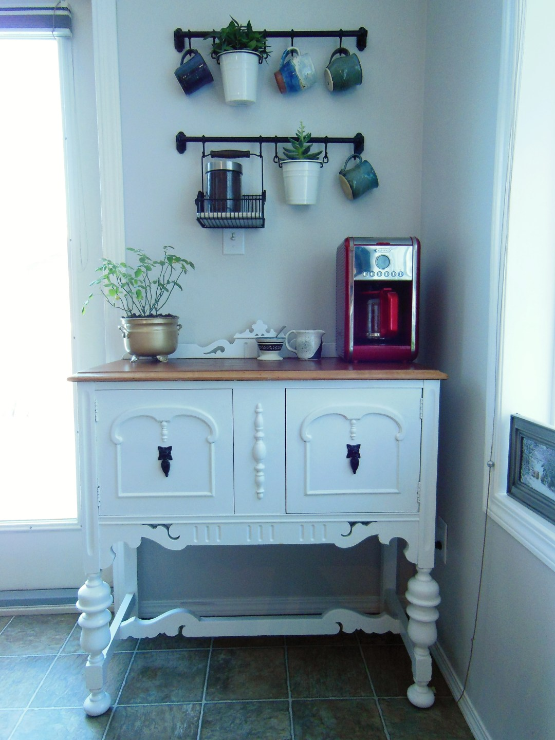 The Coffee bar - the finished product