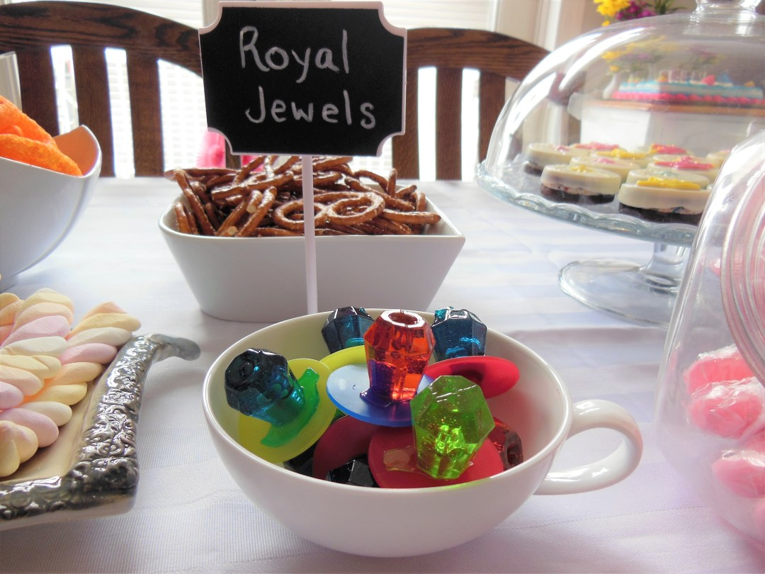 Vintage Princess Party - Royal Jewels