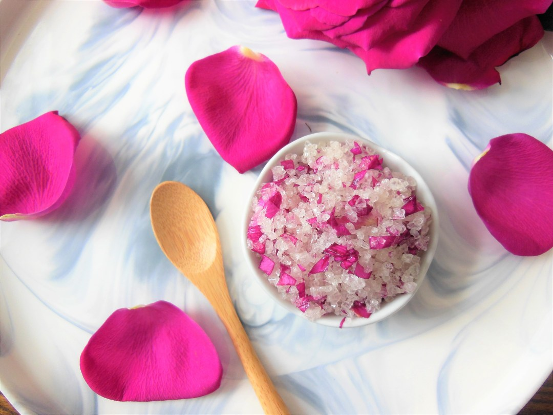 DIY Rose Body Scrub