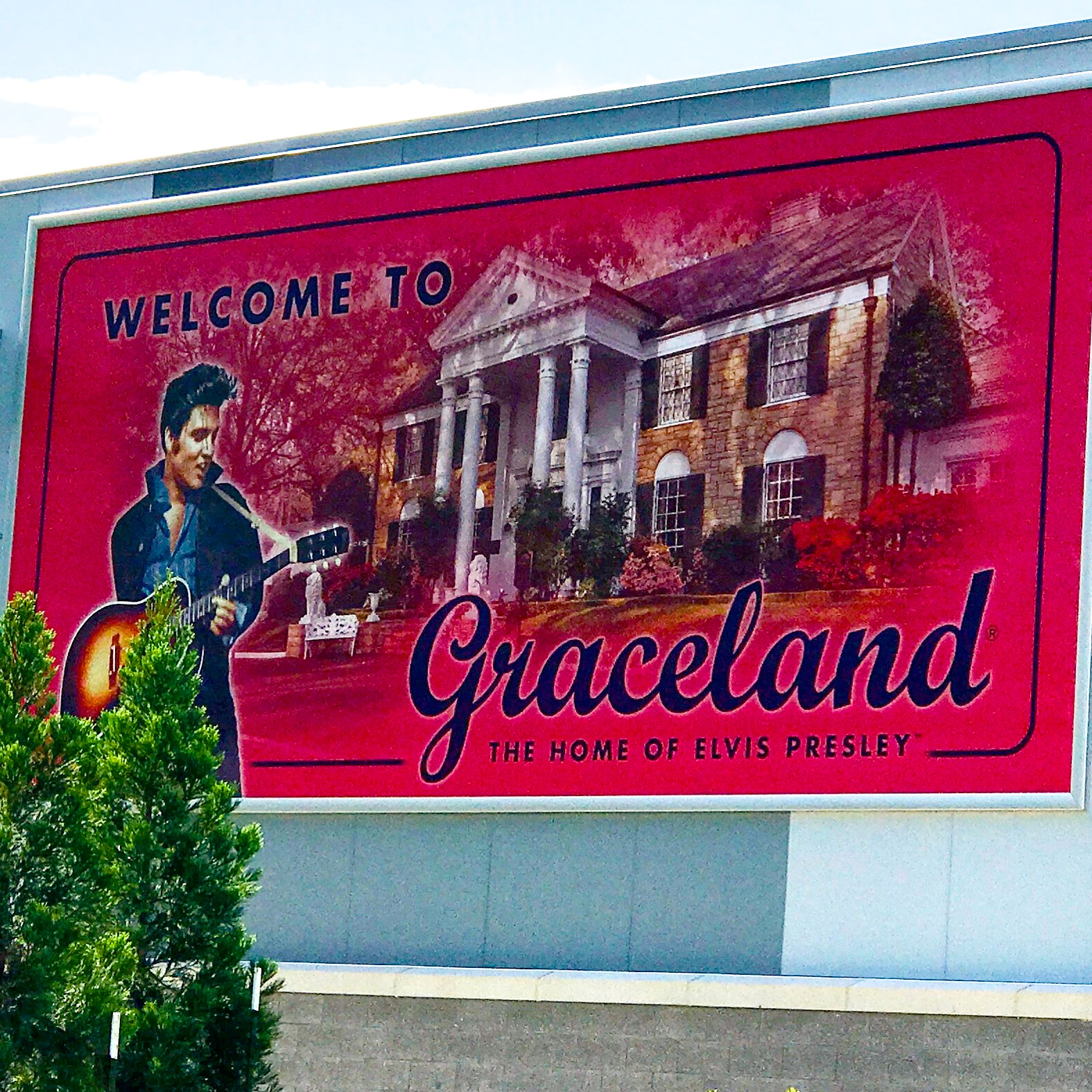 Welcome to Graceland billboard