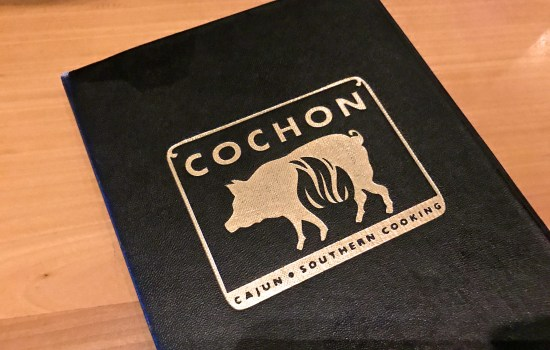 Dinner at Cochon, New Orleans