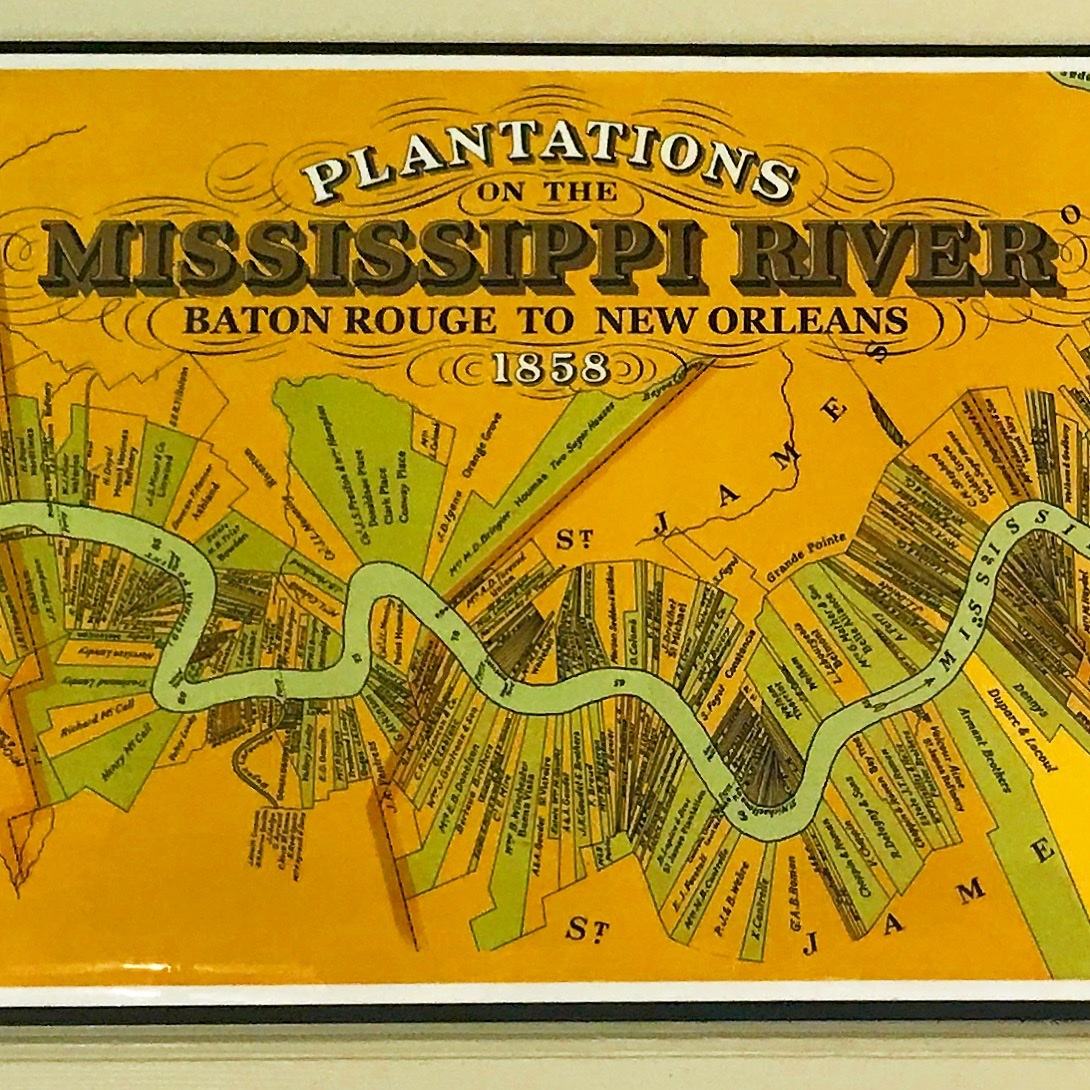 The divided Mississippi River