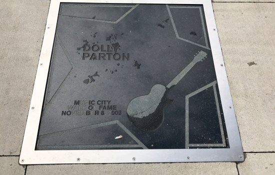 Dolly Parton Country Music Walk of Fame