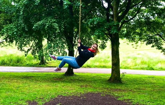 Being a big kid at Lowther Castle