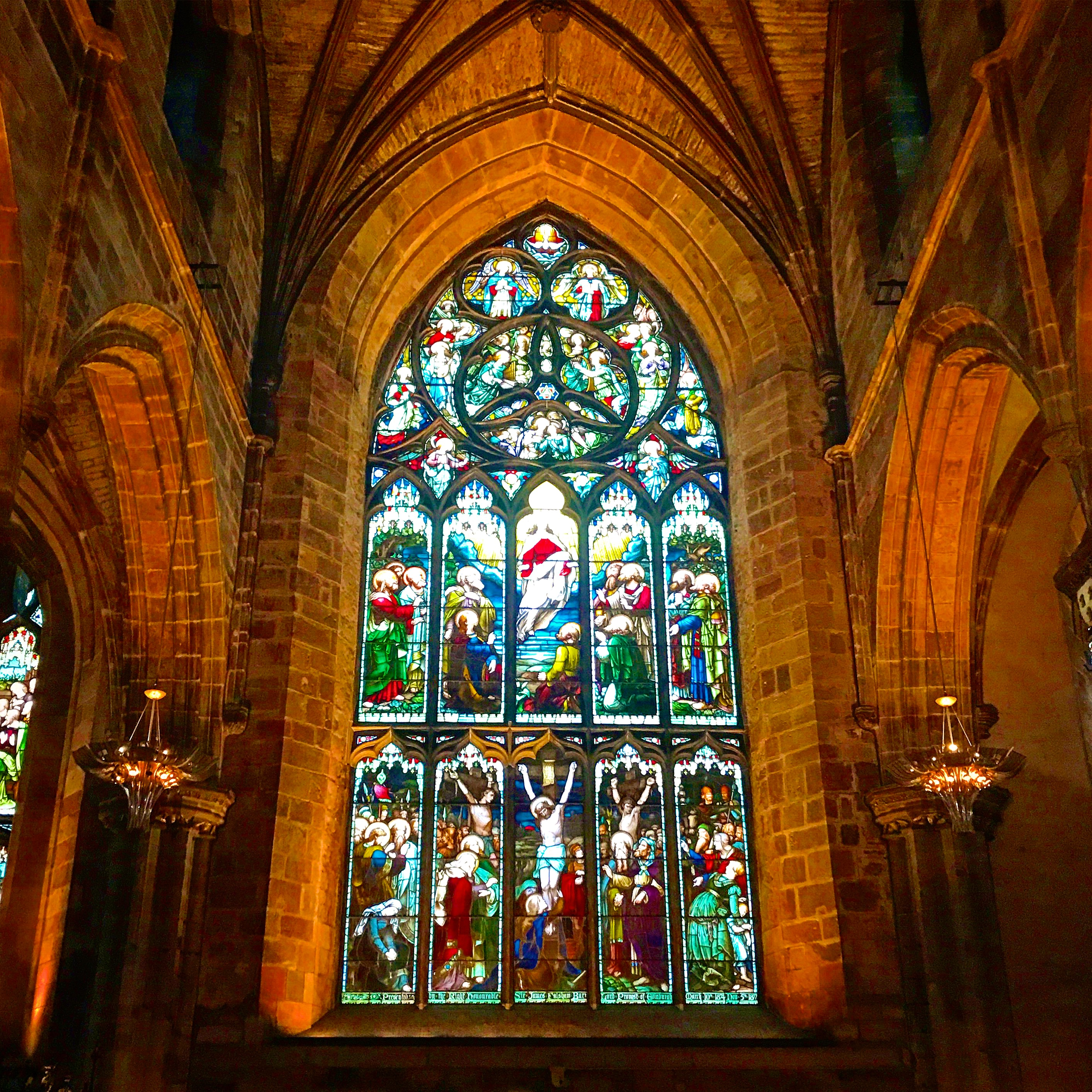 Inside Edinburgh Cathedral