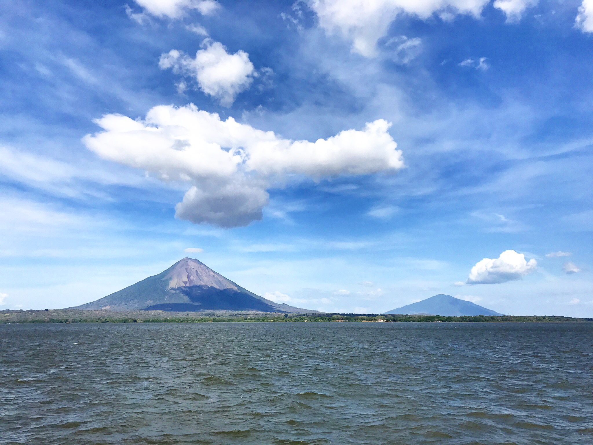 Isla de Ometepe from the mainland