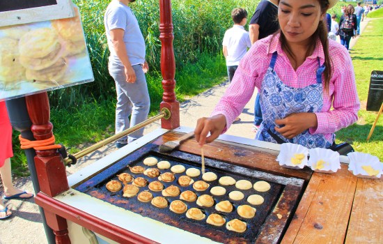 Poffertjes - traditional Dutch batter treat