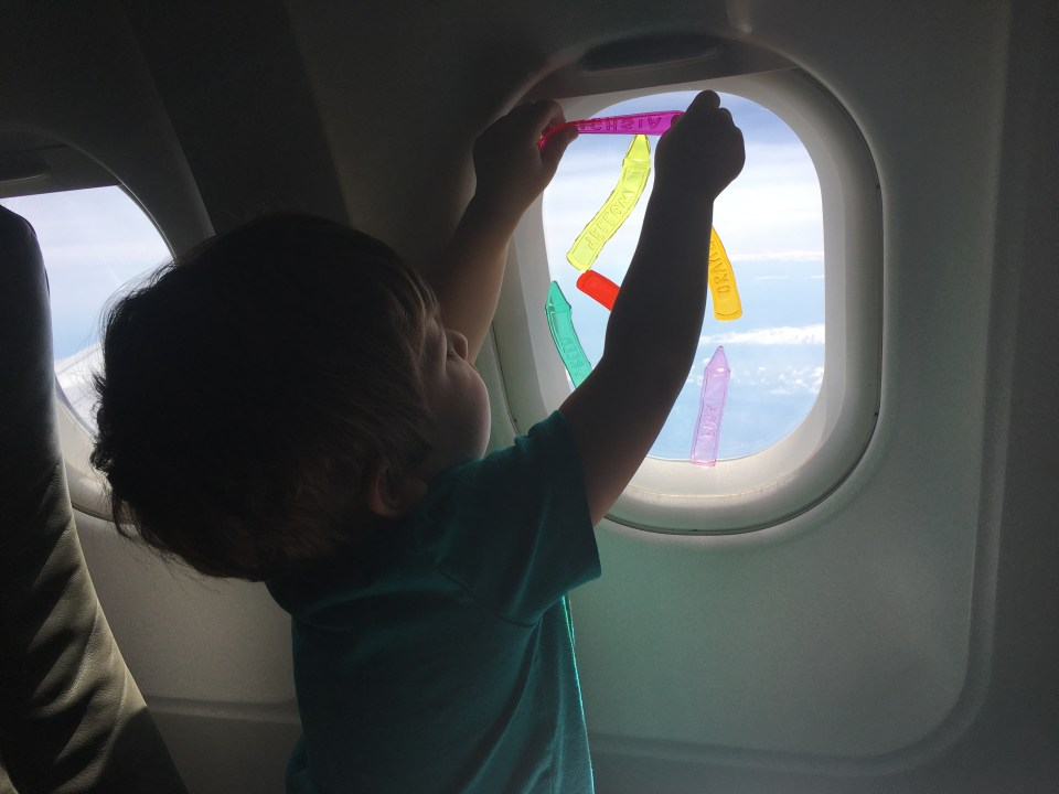15 Best Activities for Toddlers on a Plane - Three Kids and A Car