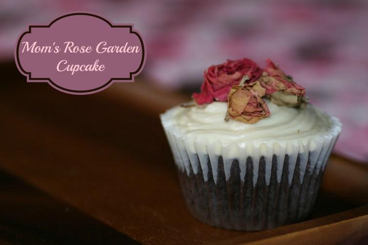 Mom's Rose Garden Cupcake