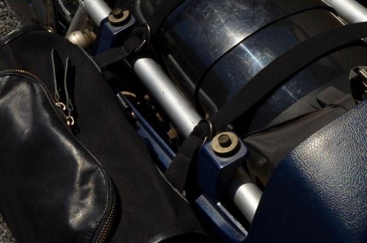 トラピジウムバッグ&スズキGSX1100S