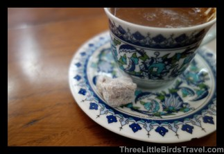 Try Turkish Tea with a Turkish Delight Treat
