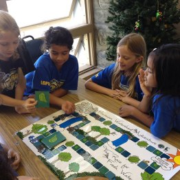 Students from Laupahoehoe Public Charter School learn how to protect our water and watersheds in this fun game.