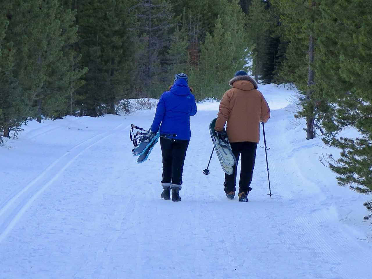snowshoe trail etiquette