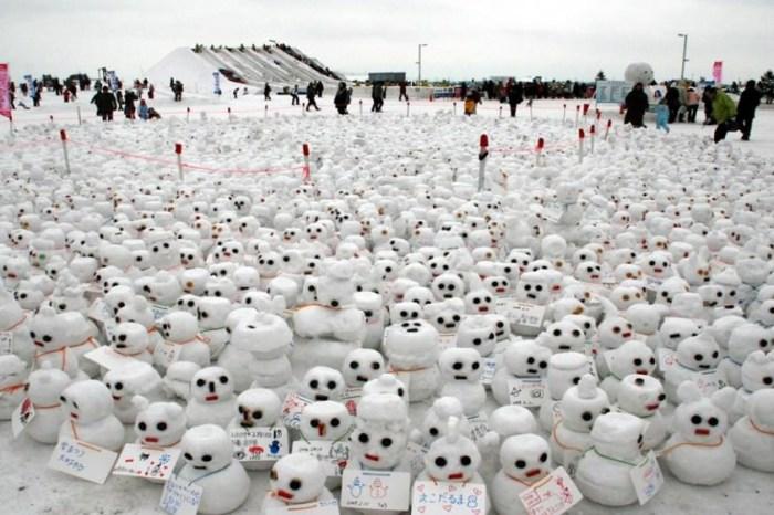 【2021北海道雪祭】日本最大規模雪祭,冬天就到札幌、旭川打~雪~仗!