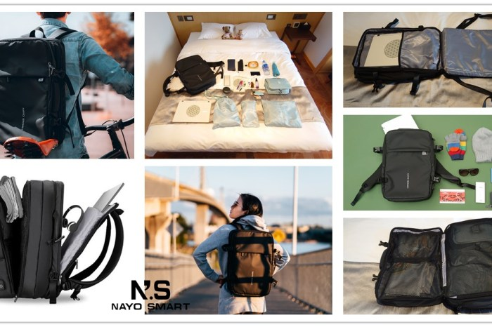 nayo exp後背包,Nayo Smart,黑色後背包,nayo exp評價,nayo smart產地,機能後背包,NayoSmart Nayo EXP科技後背包