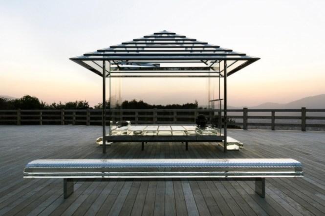 【東京景點】吉岡德仁:玻璃茶室—光庵,隨著自然光源變幻的絕美茶室