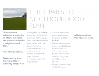 Neighbourhood Plan Flyer Draft 2