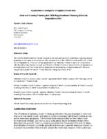 Neighbourhood Plan Formal Notification June 2018