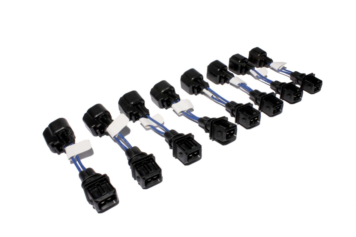 Fast Adapts Uscar Ev6 Injector To Minitimer Ev1 Injector Harness 8 Pack