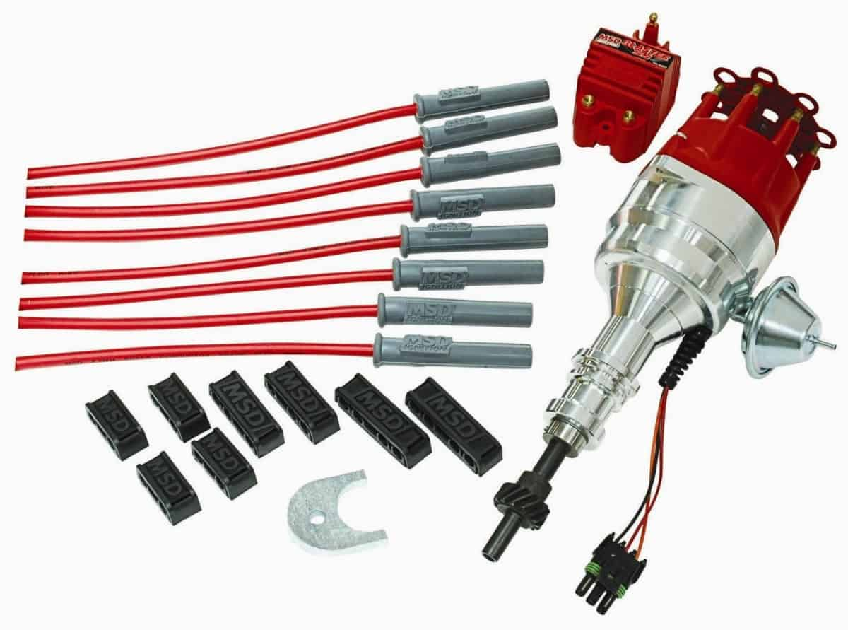 ford 289 distributor wiring diagram 6 pole trailer connector msd kit 302 ready to run