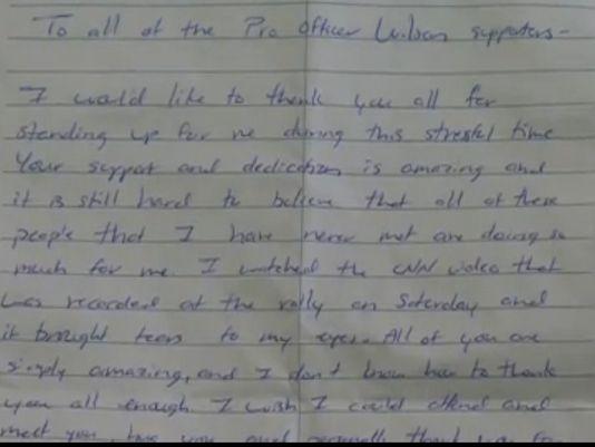 [READ] Officer Darren Wilson Releases Open Letter