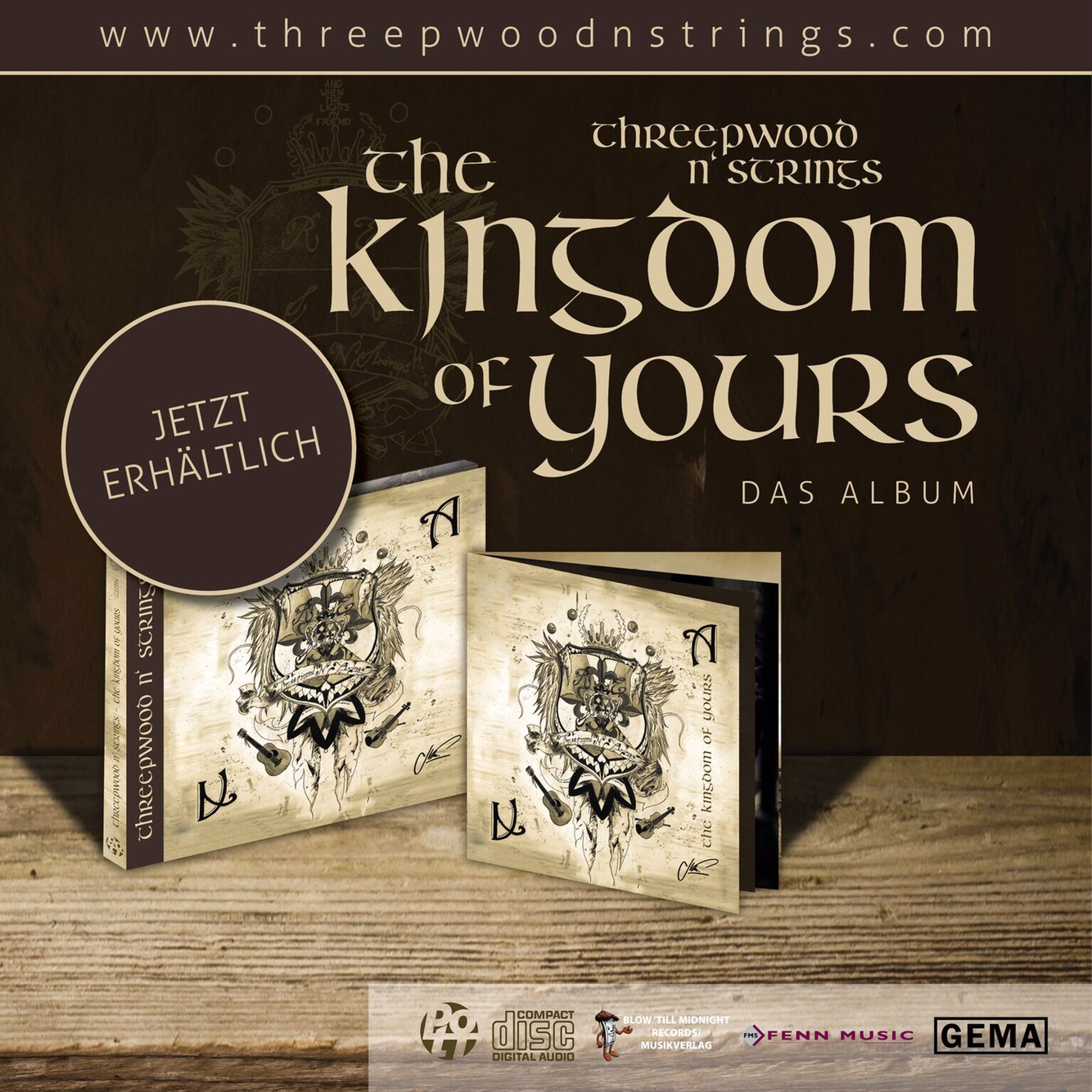 "Threepwood N Strings ""The Kingdom of Yours"""