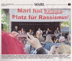 Threepwood N Strings - #wirsindmehr Marler Zeitung, mit Chris Kramer