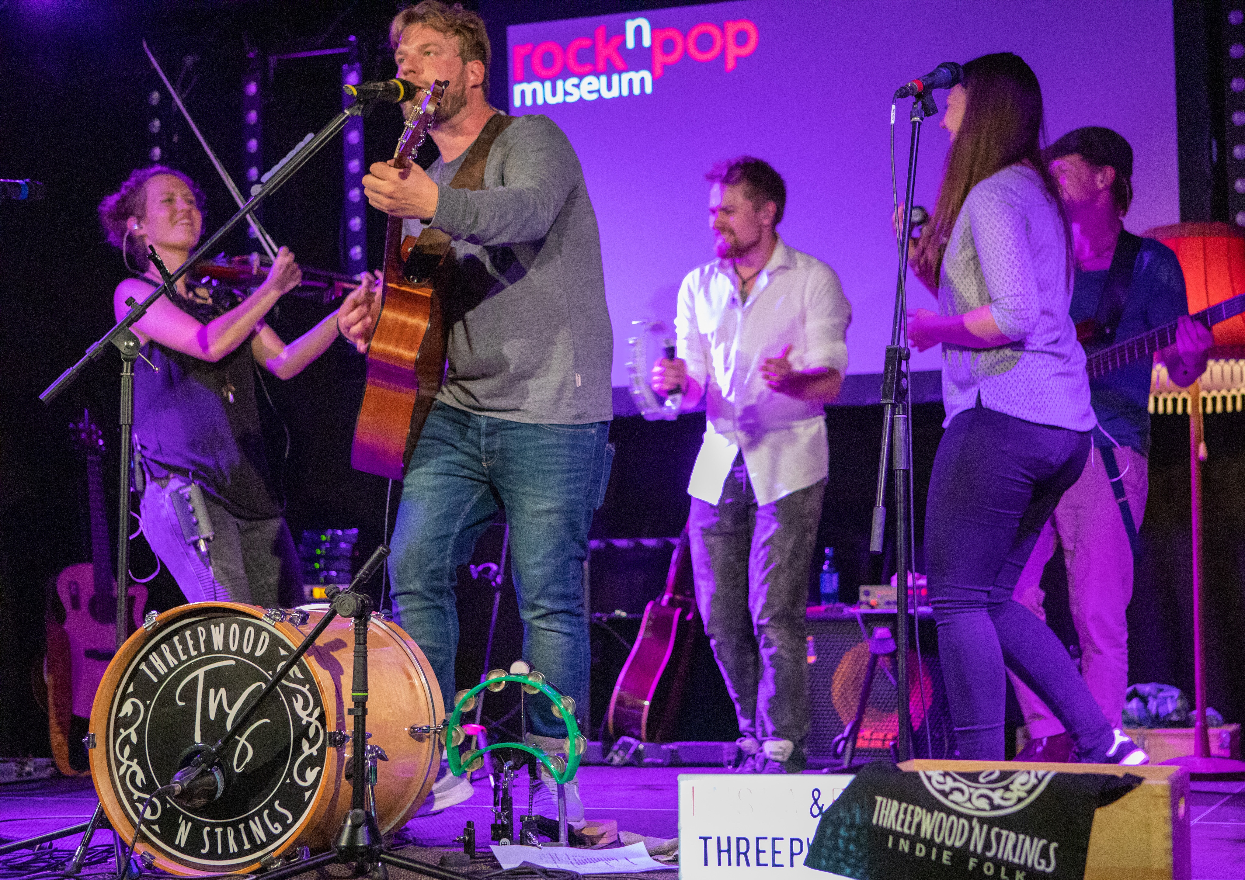 Threepwood N Strings im rock'n'popmuseum Gronau 2019
