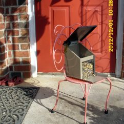 Squirrel Chair Feeder Rio Brands Beach Chairs Uk Almost Indestructible Metal On Small
